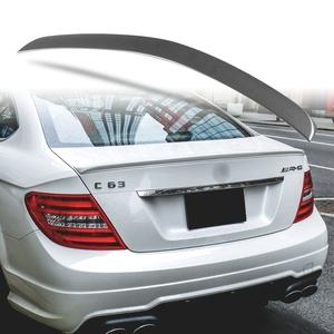純正色塗装 ABS製 トランクスポイラー メルセデスベンツ Cクラス W204 C204用 クーペ Aタイプ 両面テープ取付 カラーコード:755