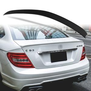 純正色塗装 ABS製 トランクスポイラー メルセデスベンツ Cクラス W204 C204用 クーペ Aタイプ 両面テープ取付 カラーコード:197