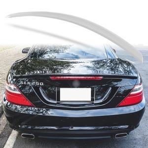 純正色塗装 ABS製 トランクスポイラー メルセデスベンツ SLKクラス R172用 前期 Aタイプ 両面テープ取付 カラーコード:775