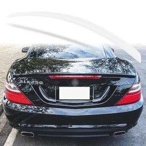 純正色塗装 ABS製 トランクスポイラー メルセデスベンツ SLKクラス R172用 前期 Aタイプ 両面テープ取付 カラーコード:799