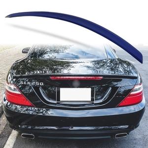 純正色塗装 ABS製 トランクスポイラー メルセデスベンツ SLKクラス R172用 前期 Aタイプ 両面テープ取付 カラーコード:890