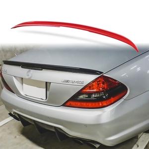 純正色塗装 ABS製 トランクスポイラー メルセデスベンツ SLクラス R230用 Aタイプ リアスポイラー 両面テープ取付 カラーコード:590