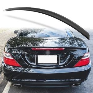 純正色塗装 ABS製 トランクスポイラー メルセデスベンツ SLKクラス R172用 前期 Aタイプ 両面テープ取付 カラーコード:040