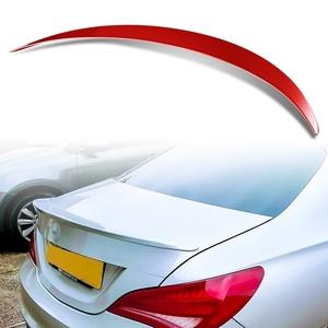 純正色塗装 ABS製 トランクスポイラー メルセデスベンツ CLAクラス C117 W117 4ドアクーペ Aタイプ カラーコード:589