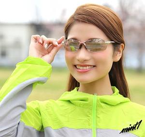 【スポーツを楽しむ女性のために】 サングラス スワンズ UVカット レディース 女性用 超軽量 日本製 ケース付き ドライブ ロゼ×白銀