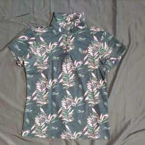 美品正規品 サイズ2 マスターバニー パーリーゲイツ クールマックス ボタニカル 高機能 ポロシャツ 送料無料