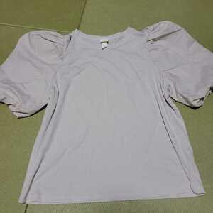 美品☆H&M レディース 半袖カットソー Lサイズ☆トップス 半袖Tシャツ