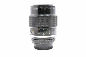 ◇ Nikon ニコン AI Micro-NIKKOR 105mm F4 Fマウント MF一眼レンズ 中望遠