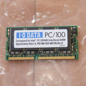 free shipping Note for memory IO DATA I o- data PC100 64MB PC100-222-60120,CL=2 SN-SDM100-64MB SODIMM 144pin