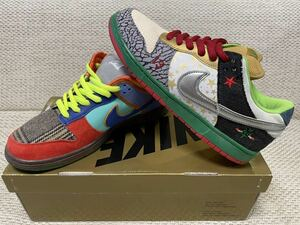 NIKE DUNK SB WHAT THE DUNK ナイキ エスビー ファット ザ ダンク