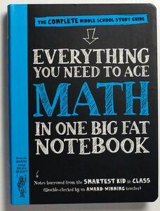 英語教材 新品 Everything You Need to Aceシリーズ Math