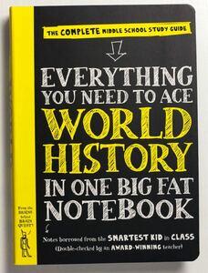 英語教材 新品 Everything You Need to Aceシリーズ World history