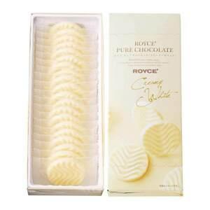 【送料無料】ロイズ 【北海道銘菓】 ピュアチョコレート[クリーミーホワイト] 他北海道お土産多数出品中 ROYCE' 1380