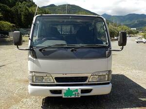 """16 year defect none self-propulsion vehicle inspection """"shaken"""" full turn vehicle from removed expectation goods KR-AHR69 KR-NHR69 for 4JG2MT2WD 14 ten thousand km pcs engine + mission receipt limitation (pick up)"""
