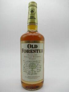 [古酒] オールドフォレスター 正規品 サントリー スリムボトル 43度 750ml [LL-0720-50-2]
