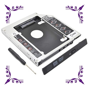 【送料無料】Ren He 2nd 2.5インチ HDD・SSD マウンタ 光学ドライブベイ用 SATA 3.0 ハードディスクマウ