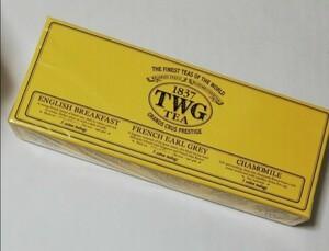 シンガポール アールグレイ イングリッシュブレックファースト ティーバッグ シンガポール TWG 紅茶 カモミール  お茶