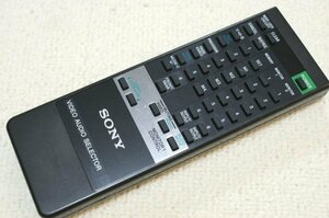 (( free shipping ) SONY Sony video / audio selector remote control RMT-3000 SB-V3000 operation OK