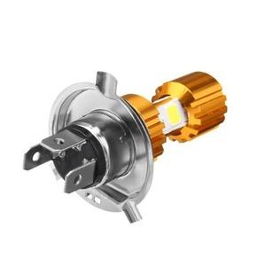 1個 H4LED 8K 12 V オートバイヘッドライト電球 バイクフォグランプ H4/9003/hb2 hi/lo  A1416