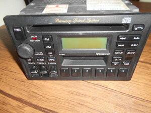 ボルボ AM FM CD カセットテープ デッキ