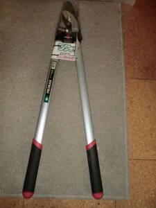 2-1[ unused ]. 10 storm cutlery industry PRUMANlak.. futoshi branch cut . aluminium pipe 600mm steering wheel OM600 long-term keeping goods