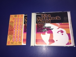 CD/帯付き/ソフトロック●V.A. / It's a soft rock world