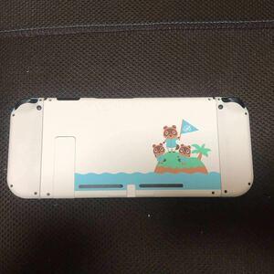ニンテンドースイッチ Nintendo Switch どうぶつの森カスタム 本体のみ