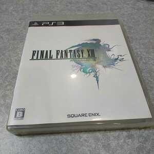 PS3 【ファイナルファンタジー13】2009年スクウェア・エニックス [送料無料]返金保証あり
