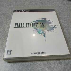 PS3【ファイナルファンタジー13】2009年スクウェア・エニックス、 [送料無料]返金保証あり
