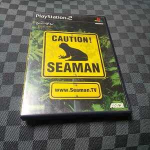 PS2【シーマン】アスキー ※ソフトのみ、専用マイクはありません [送料無料]返金保証あり
