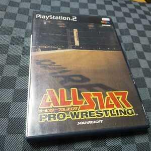 PS2【オールスタープロレスリング】2000年スクウェア ※解説書なし [送料無料]返金保証あり