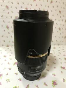 ニコン NIKON用 TAMRON SP 70ー300mm f4-5・6 DI VC フード付