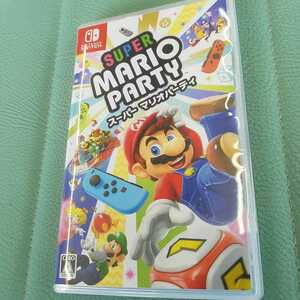 スーパーマリオパーティ ニンテンドー スイッチ ソフト Nintendo Switch 任天堂Switch 美品 ☆送料無料☆