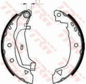 TRW brake shoe disk brake Citroen AX ZA 11 4x4 GS8240