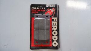 FERODO Ferodo brake pad bike Aprilia APRILIA STX125 FDB204R 18654660