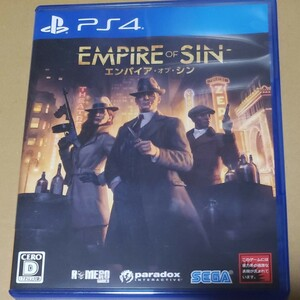 【PS4】 Empire of Sin エンパイア・オブ・シン
