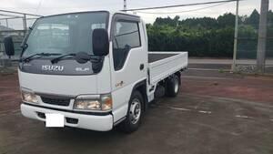 Chiba prefecture Isuzu 2 ton truck flat deck ETC maximum loading 2000.5 speed manual gear - clutch free mode attaching price lowering negotiations possibility