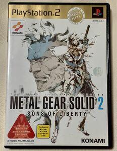 【PS2】 メタルギアソリッド2 サンズ オブ リバティ