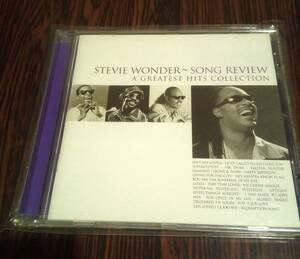 中古CD STEVIE WONDER~SONG REVIEW A GREATEST HITS COLLECTION スティービーワンダー グレイテスト・ヒッツ コレクション