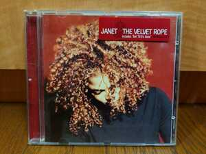 送料無料 JANET JACKSON THE VELVET ROPE USED CD ジャネット・ジャクソン /(検)Michael Jackson マイケル・ジャクソン