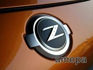フェアレディZ Z33 カスタム エンブレム 前後セット フロントリア ニスモ S T ST ロードスター nismo 350Z フロント バンパー エアロ にも