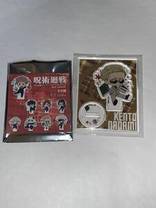 呪術廻戦  七海建人 ぺたん娘トレーディングアクリルスタンド -four seasons- セブンイレブン