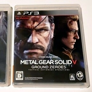【PS3】 メタルギア ソリッド V グラウンド・ゼロズ 中古品