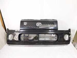 100配達先条件有 HF21S スピアーノ フロント バンパー 黒 ZJ3 ブラック HE21S アルト ラパン