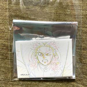鬼滅の刃 煉獄杏寿郎 原画コレクションスクエア缶バッジ