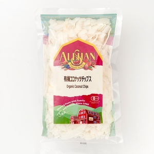 【Alishan】 有機JAS ココナッツチップス 100g アリサン オーガニック ココナッツ 無添加 有機食品 チップス