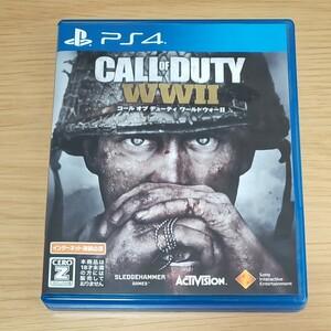 【PS4】 COD WW2 コール オブ デューティ ワールドウォーII [通常版]