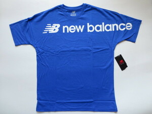 New Balanceニューバランス■半袖Tシャツ新品■L   青