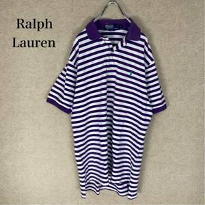 【Ralph Lauren】ラルフローレン ★ポロシャツ★ ボーダー