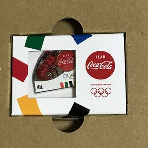 新品 送料無料 コカ・コーラ 東京オリンピック聖火リレー 都道府県ピン ピンバッジ 三重